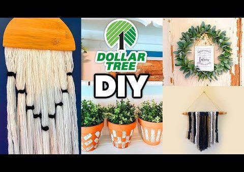 Dollar Tree DIY FARMHOUSE DECOR IDEAS 2020 – Home Decor Ideas on a BUDGET