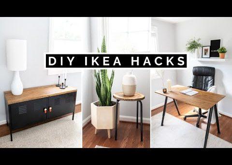 DIY IKEA HACKS   AFFORDABLE DIY HOME DECOR + IKEA FURNITURE HACKS FOR 2020