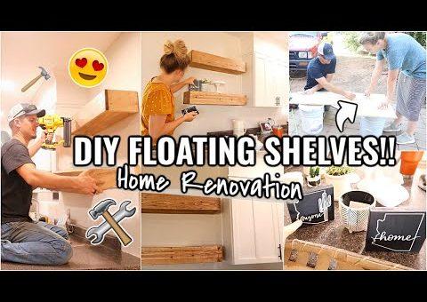 DIY HOME RENOVATION PROJECTS!!😍 ARIZONA FIXER UPPER   DIY HOME DECOR USING THE CRICUT JOY