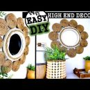 HIGH END DIY HOME DECOR IDEA | DOLLAR TREE MIRROR 2020