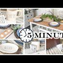 5-Minute DIY Home Decor | FAST & EASY! | MODERN FARMHOUSE DECOR