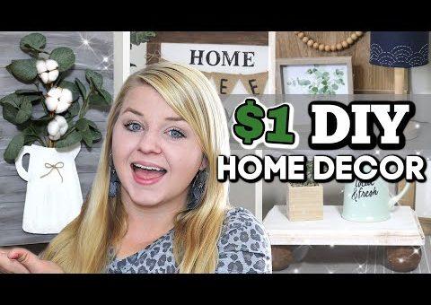 NEW SUPER CHEAP Dollar Tree Farmhouse DIY HOME DECOR 2020 | DIY DOLLAR TREE DECOR | KraftsbyKatelyn