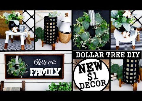 $1 HIGH END DIY'S | DOLLAR TREE DIY'S | MODERN HOME DECOR IDEAS 2020