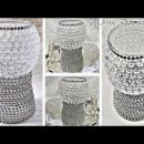 Dollar Tree DIY Glam Silver & Crystal Room Decor Ideas DIY Glam Home Decor