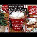 $1 HIGH END DOLLAR TREE CHRISTMAS DIY'S 🎄| CHRISTMAS HOME DECOR IDEAS 2020
