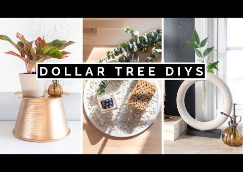 DIY DOLLAR TREE HOME DECOR | $1 AESTHETIC AND EASY 2021