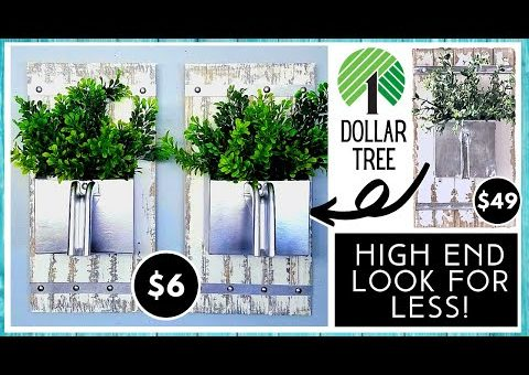 NEW HIGH END DOLLAR TREE DIY HOME DECOR | Look For Less | Farmhouse Inspired Metal Scoop  Decor Dupe