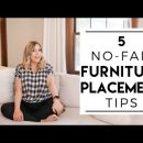 INTERIOR DESIGN | No-Fail Furniture Placement Tips For the Best Layout
