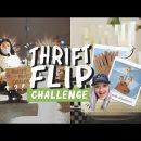 DIY Thrift Flip Home Decor Challenge with DIYDanie!
