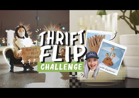 DIY Thrift Flip Home Decor Challenge with DIYDanie!