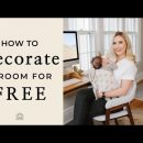 INTERIOR DESIGN | Decorating an Entire Room for Free – Easy Hacks to Refresh Your Space