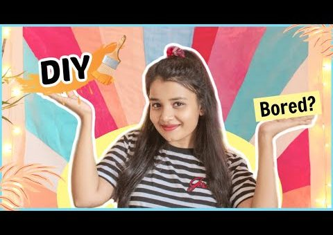 DIY Things To Do When You're BORED | Fun DIY Room Decor Ideas Try at Home!!