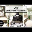 Home Decor DIY: Bathroom Makeover | ASMR diy home decor