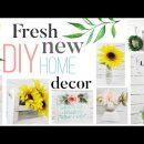 🌿 7 Fresh and New DIY Home Decor Ideas | Dollar Tree DIY Decor | Easy and Affordable DIY Home decor