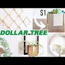 DIY Room Decor! 5 High End Dollar Store DIYs (Amazing $1 HACKS!)