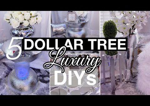 DIY LUXURY HOME DECOR USING DOLLAR TREE ITEMS| Must See DIYs