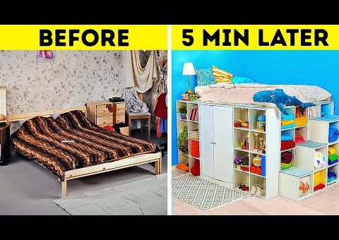 EXTREME ROOM MAKEOVER    DIY Furniture And Home Decor Ideas And Tutorials