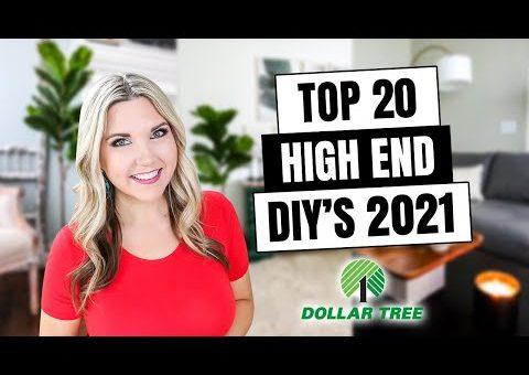 20 HIGH END DOLLAR TREE DIYs – ROOM DECOR Inspired by HIGH END DECOR