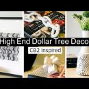 DIY HIGH END DOLLAR TREE HOME DECOR   MODERN CB2 INSPIRED DIYS   HIGH END DUPES