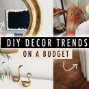 DIY 2020 DECOR TRENDS on a Budget // Thrift Flip Home Decor  | XO, MaCenna